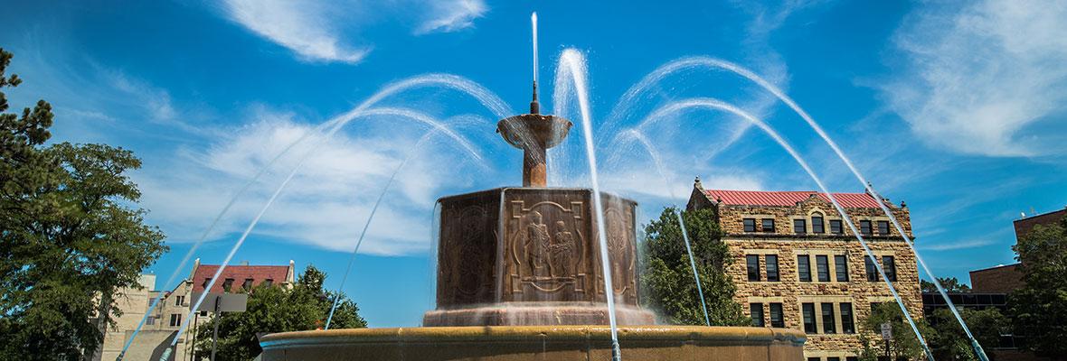 Chi Omega Fountain