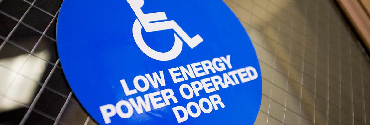 Low power door